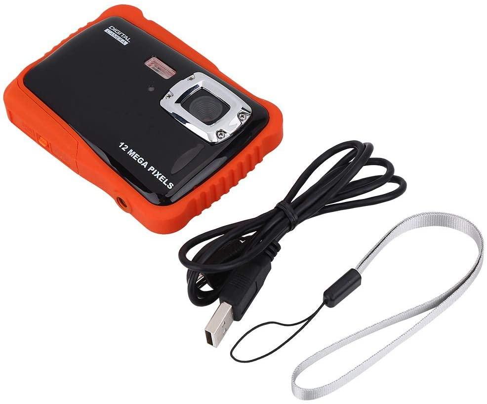 ZJchao Waterproof Kids Camera, Kids Waterproof High Definition Underwater Swimming Digital Camera Camcorder