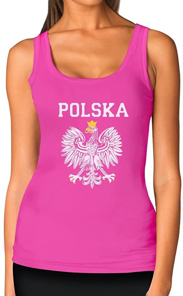 TeeStars Womens - Polska Est Soccer Team Tank Top
