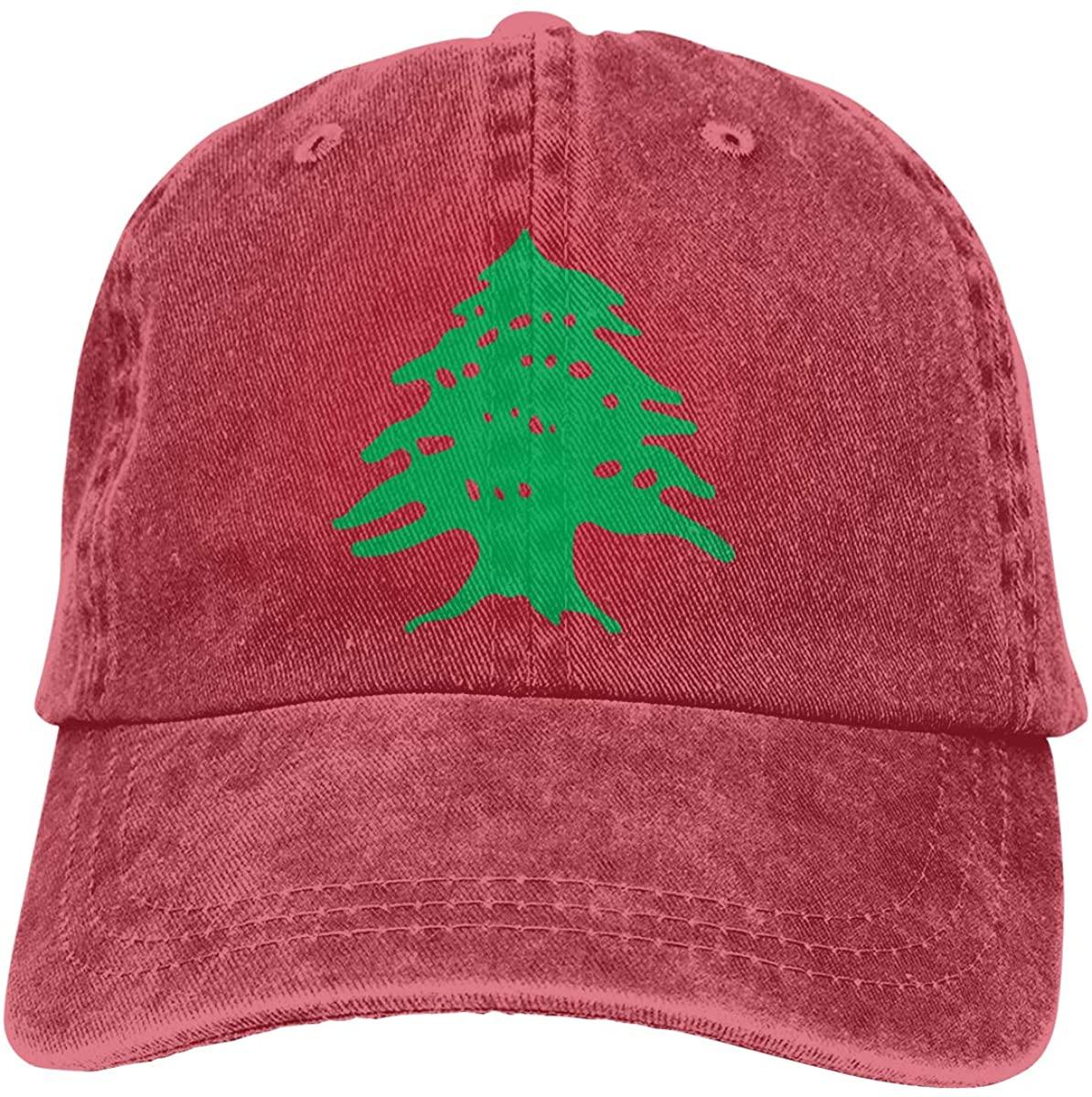 JKJS LDFO Flag of Lebanon Logo Unisex Baseball Cap Cowboy Hat Dad Hats Trucker Hat