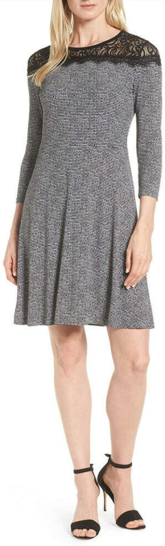 Michael Michael Kors Womens Lace Mini Wear to Work Dress