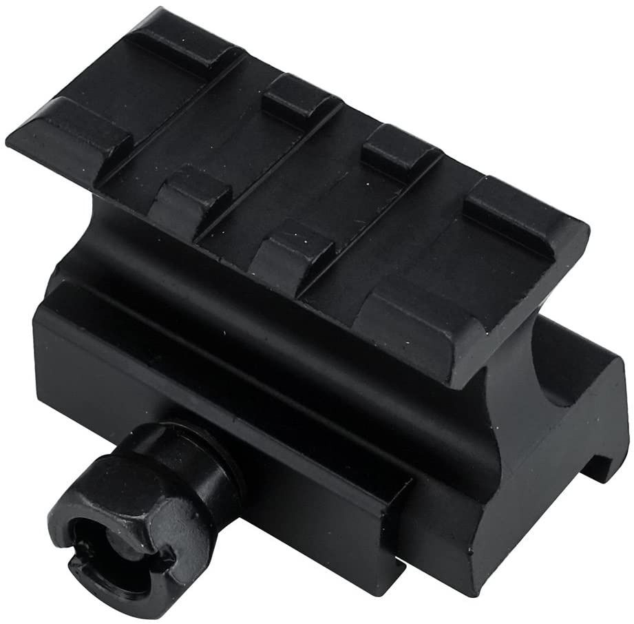 Monstrum Picatinny Riser Mount for Red Dots and Optics | 1.75 inch