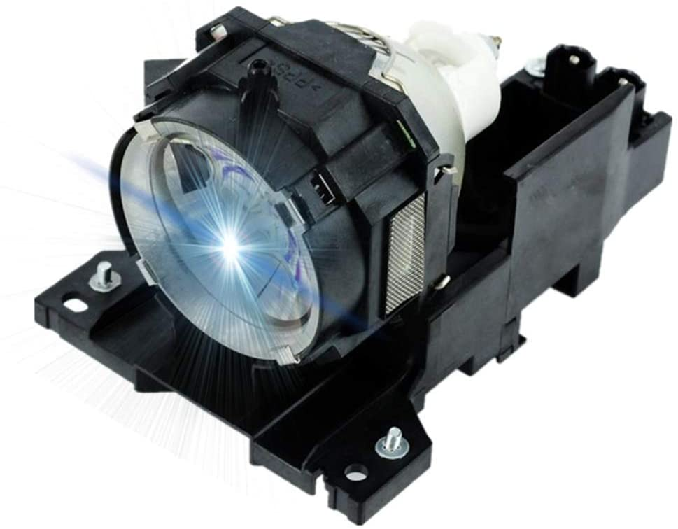 AWO DT00771 / RLC-021/78-6969-9893-5 Replacement Lamp Bulb with Housing for HITACHI CP-X505,CP-X605,CP-X608 for Ask C445,C445+ for VIEWSONIC PJ1158 for 3M X90/W