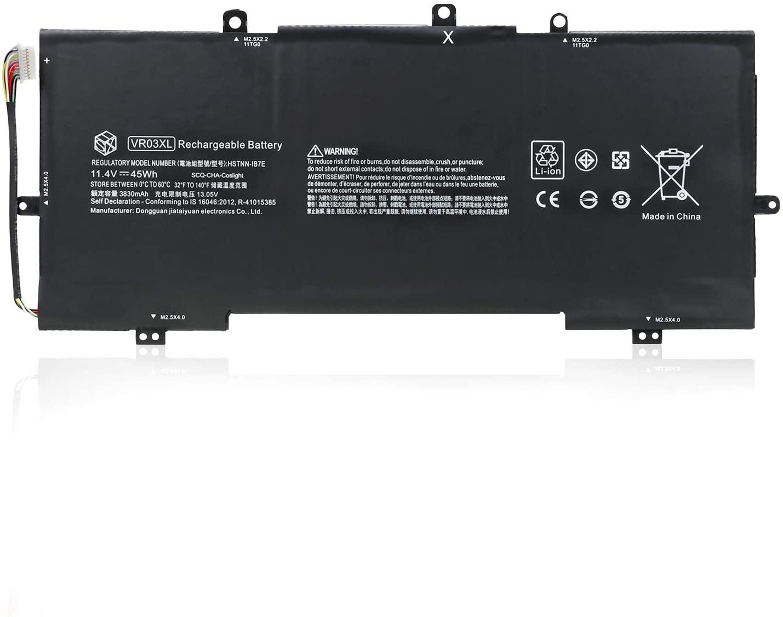 HSX VR03XL Battery for HP Envy 13-d 13-d000 Series:13-d010nr 13-d040wm 13-d049tu 13-d040nr 13-d010nr 13-d022tu 13-d006la 816497-1C1 816243-005 HSTNN-IB7E TPN-C120 [11.4V/45Wh /3830mAh]