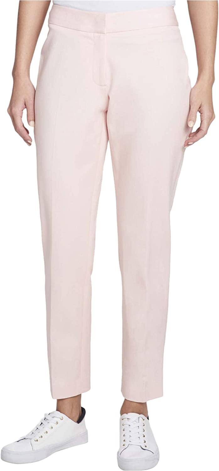 Tommy Hilfiger Womens Slim Ankle Casual Trouser Pants