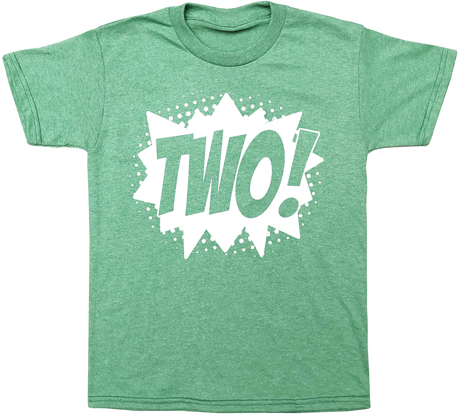 Happy Family Clothing Superhero Second Birthday Two! T-Shirt