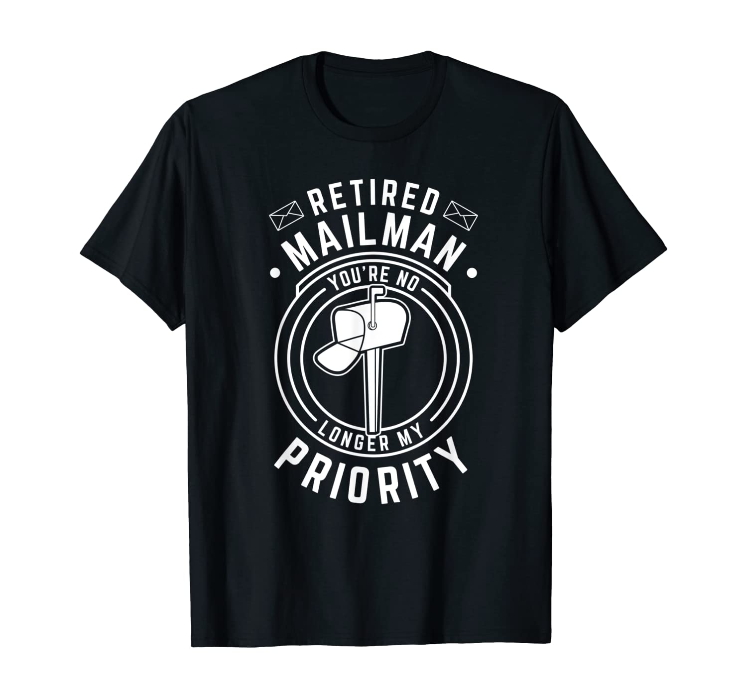 Retired Postal Worker Mailman Postman Post Office Gift T-Shirt