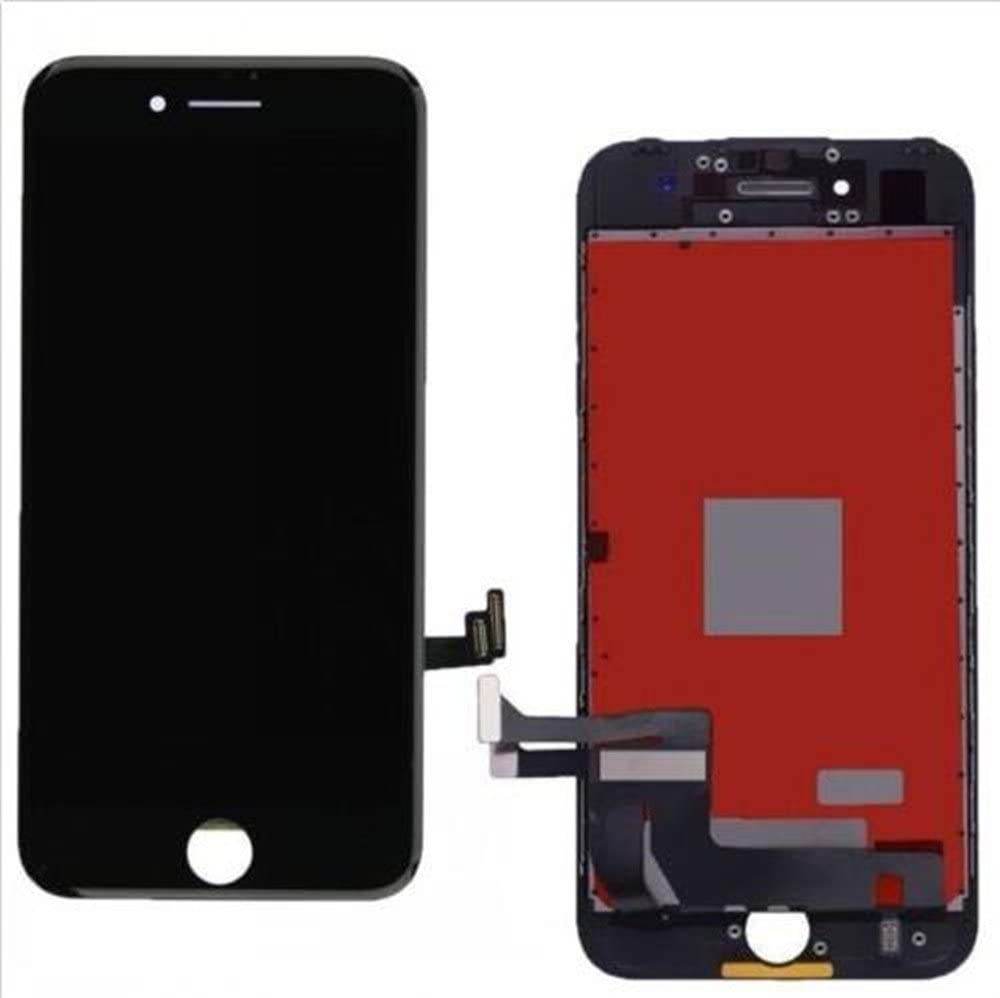 Glass Display LCD Touch Screen Replacement Digitizer Assembly for Apple iPhone 7 (Black)