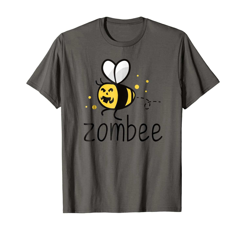 Zombee Funny BumbleBee Zombie Halloween T-Shirt