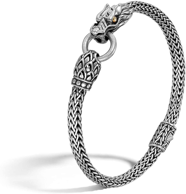 John Hardy Women's Legends Naga Gold & Silver Dragon Station Chain Bracelet
