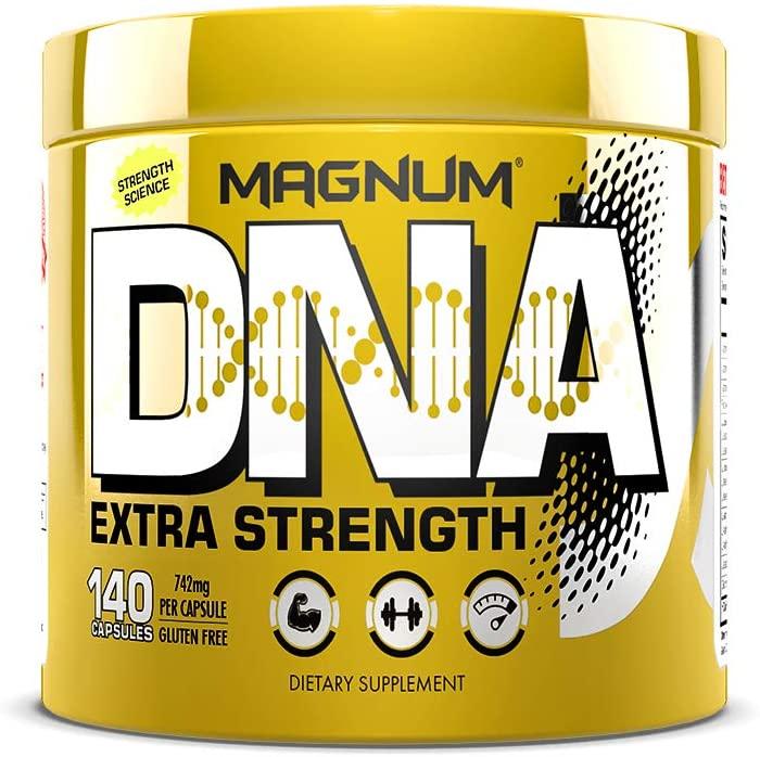 Magnum Nutraceuticals DNA (140 BCAA Capsules)