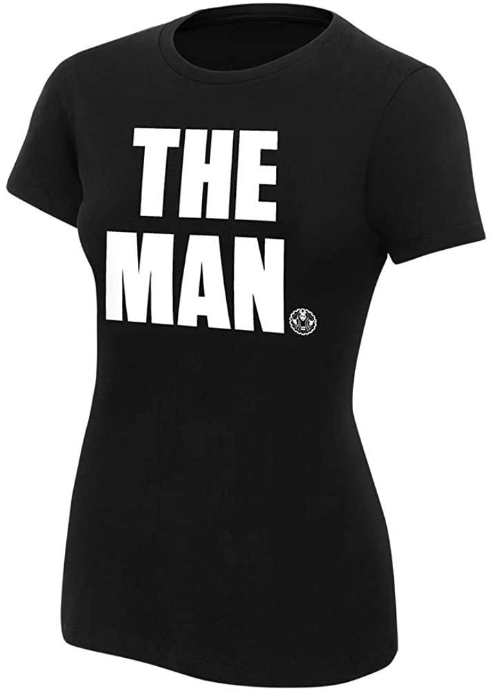 WWE Authentic Wear Becky Lynch The Man Womens T-Shirt Black 2XL
