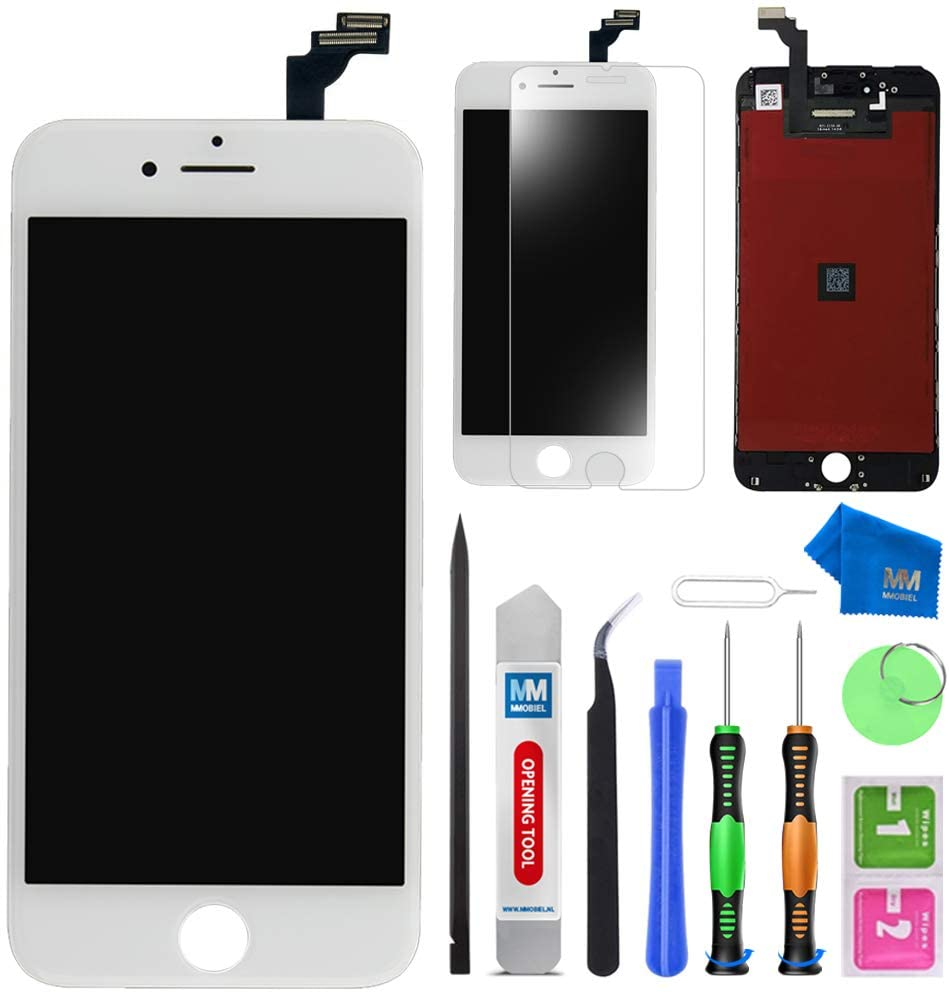 MMOBIEL LCD Display Touchscreen Replacement Compatible with iPhone 6 Plus (White)