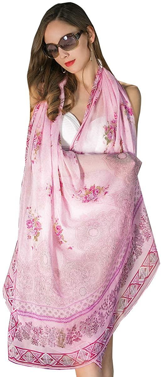 DANA XU 100% Pure Silk Large Size Pashmina Shawls and Wraps Women Scarf Mask