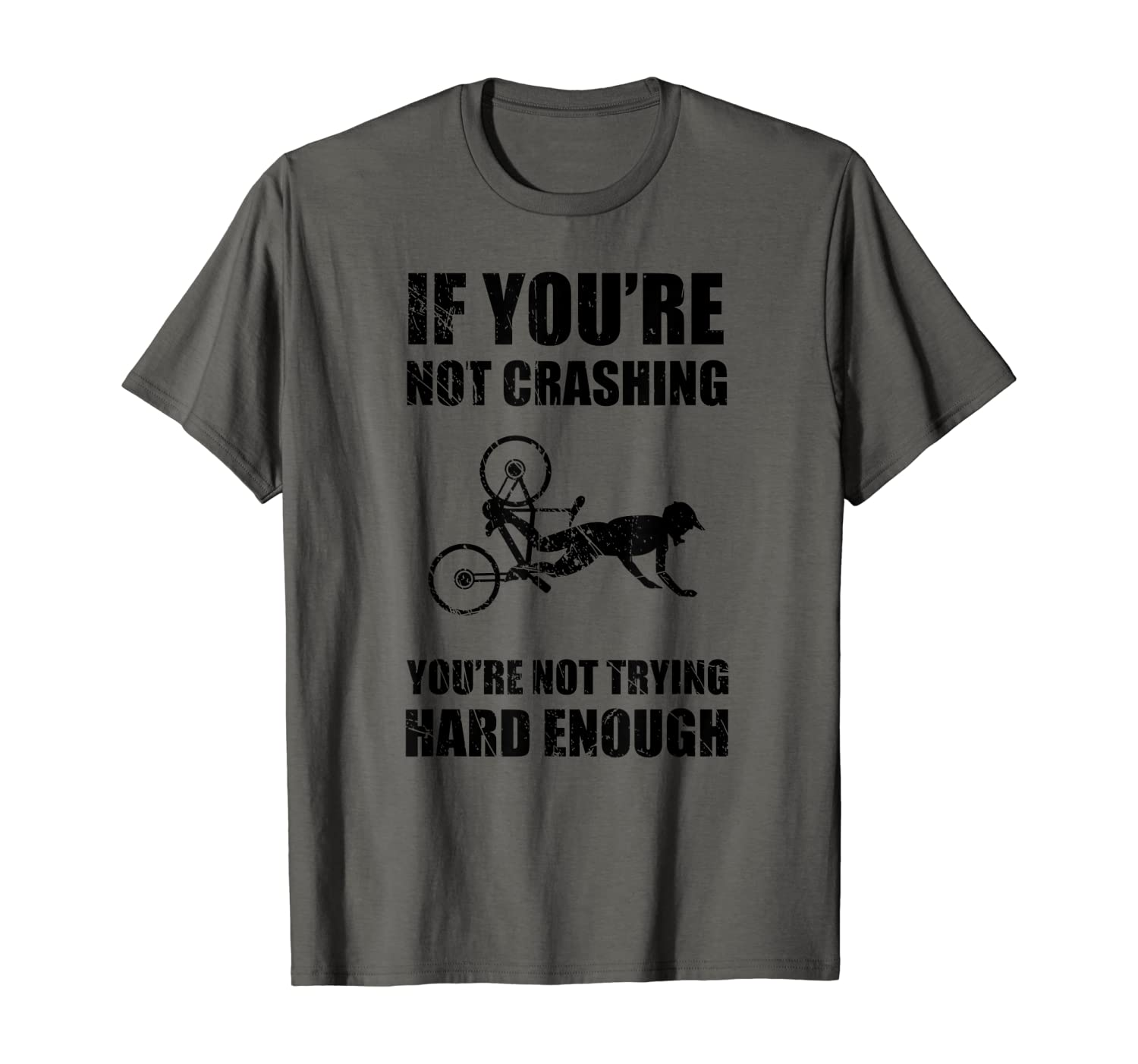 Funny Mountain Bike Crash Bicycle Accident Injury T-Shirt