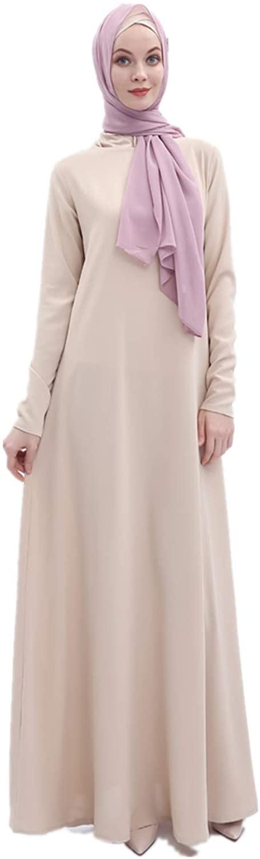 HZUX Elegant Muslim Dresses for Women Long Dress Women Abaya Dress Islamic National Robe