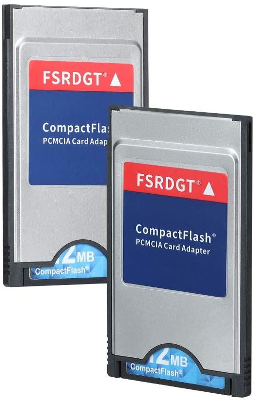 zhongsir FSRDGT High - Speed Notebook PC Memory Supplement Laptop PCMCIA Compact Flash PC CF Card Reader Adapte