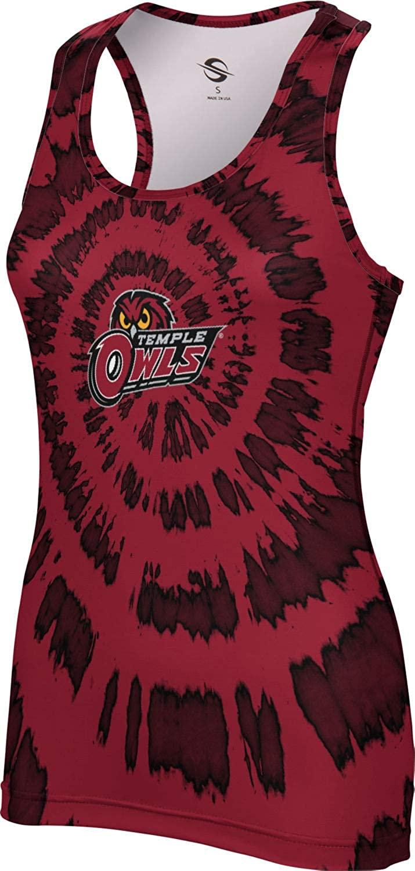 ProSphere Temple University Women's Performance Tank - Tie Dye