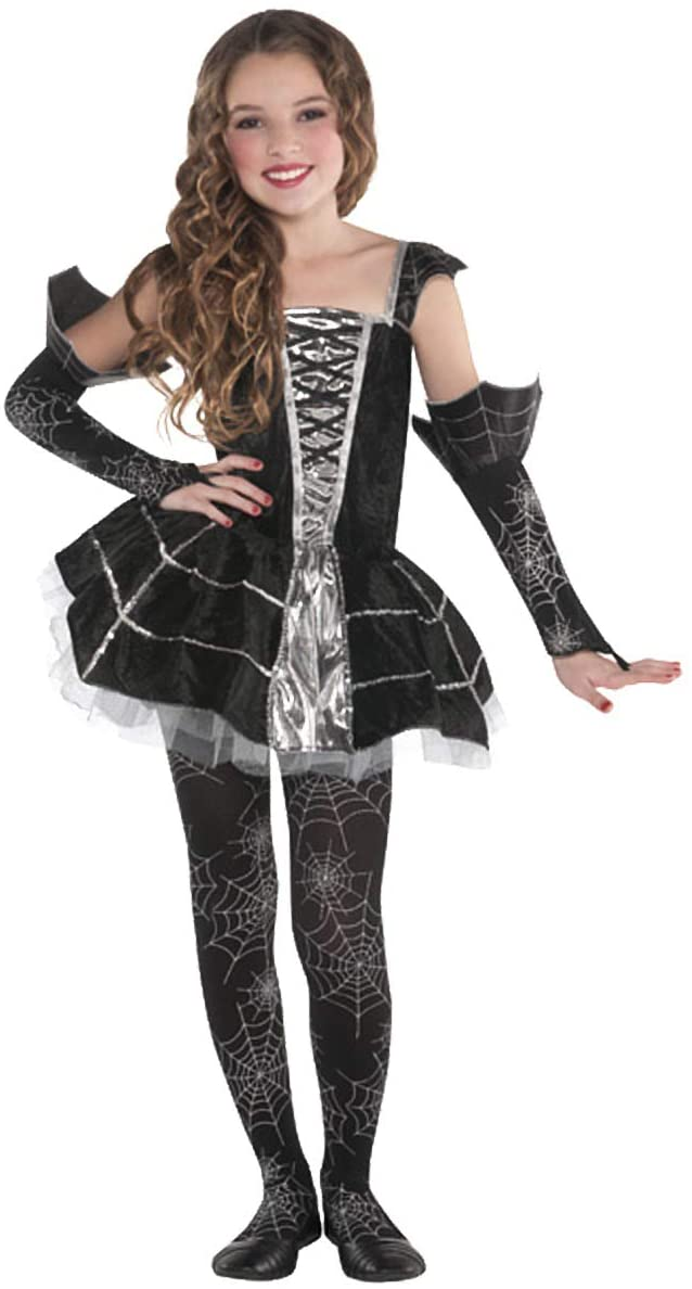 amscan Girls Midnight Mischief Costume - Medium (8-10) | 3 Ct.