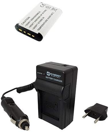 Syenrgy Digital Camera Accessory Kit Works with Sony Cyber-shot DSC-RX100 IV Digital Camera includes: SDNPBX1 Battery, SDM-1559 Charger