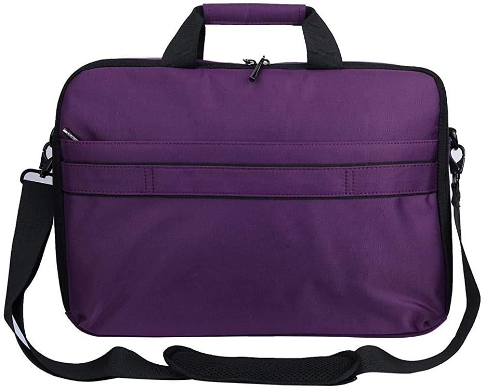 Solar Bag, Outdoor Purple Solar Charger Bag Portable Computer Handbag with USB Por for Charging.