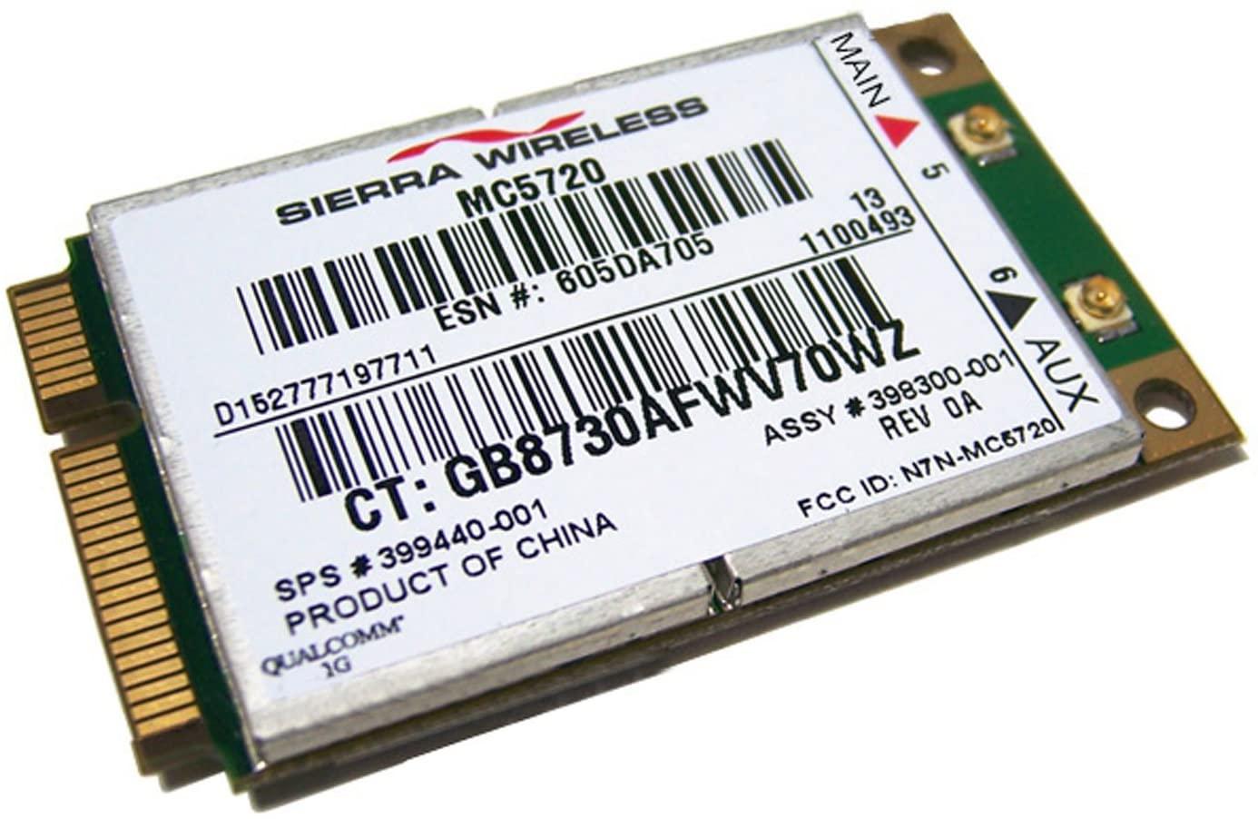 HP Sierra Wireless MC5720 Wirelss Card 399440-001 Sierra 398300-001 MC5720