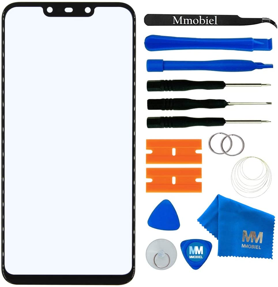 MMOBIEL Front Glass Repair kit Compatible with Huawei Mate 20 Lite 2018 6.3 inch (Black) Display incl. Tools