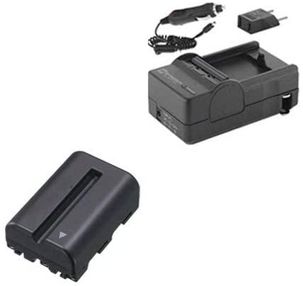 Syenrgy Digital Camera Accessory Kit Works with Sony Alpha DSLR-SLT-A57 Digital Camera includes: SDNPFM500H Battery, SDM-101 Charger