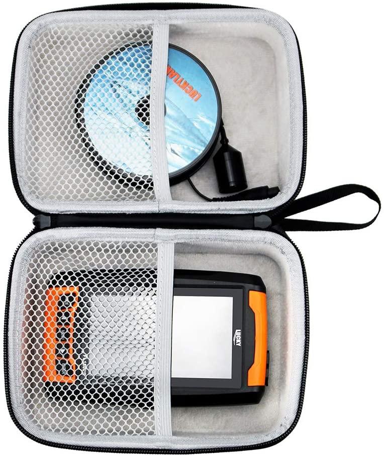 LUCKYLAKER Hard EVA Case for Lucky/LUCKYLAKER Portable Sonar Fish Finder Wireless Kayak Fish Finder Sonar Sensor Fish Finder Boat Depth Finder for Fishing