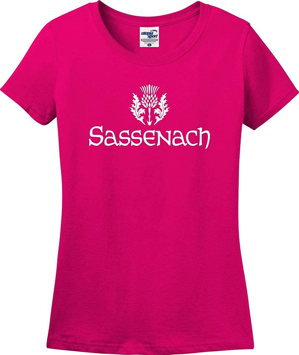 Sassenach Thistle Missy Fit Ladies T-Shirt (S-3X)