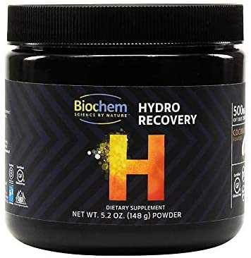 Biochem Hydro Recovery - 5.2 Ounce - High Endurance Post Workout Supplement - Organic Muscle Recovery Formula with Natural MCT - Keto-Friendly - Certified Gluten-Free