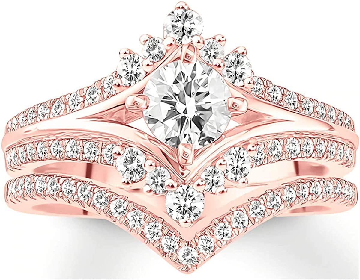 1 Carat (ctw) moissanite engagement ring for women 10K 14k 18K gold ring Platinum Plated Silver moissanite rings