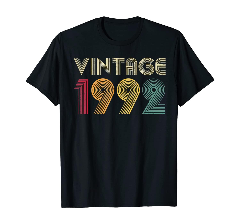 Vintage 1992 28th Birthday Gift Retro Shirt 28 Years Old T-Shirt
