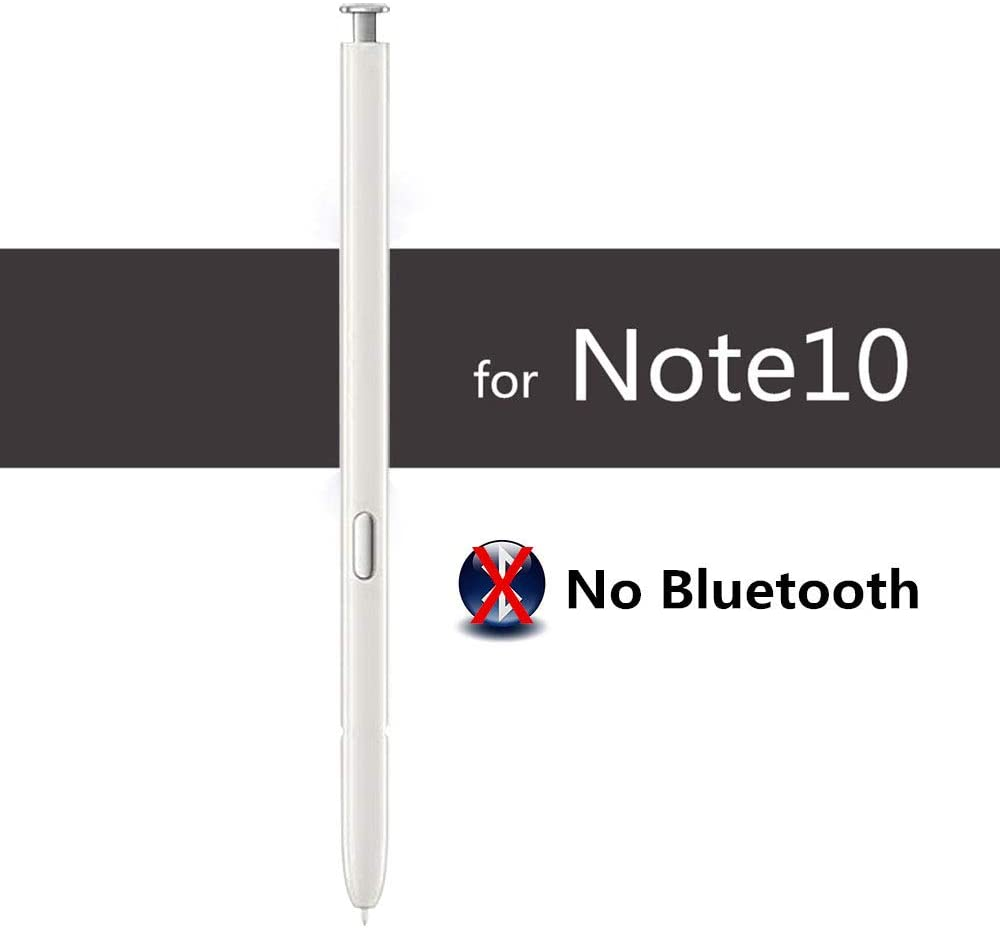 FORERUNER Galaxy Note 10 Pen (No Bluetooth),Stylus Touch S Pen Replacement for Samsung Galaxy Note 10 / Note 10+ (White)