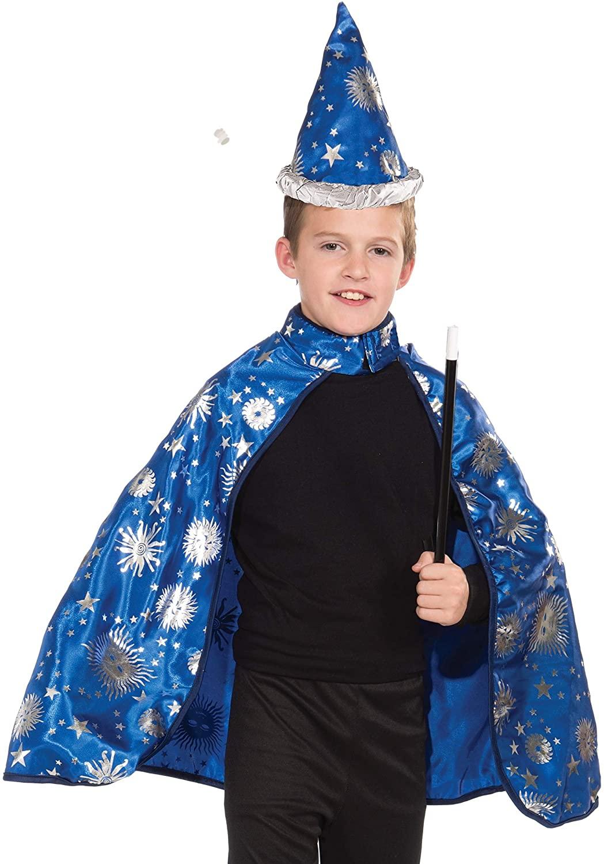 Forum Novelties Lil Wizard Cape and Hat Child's Costume, Medium