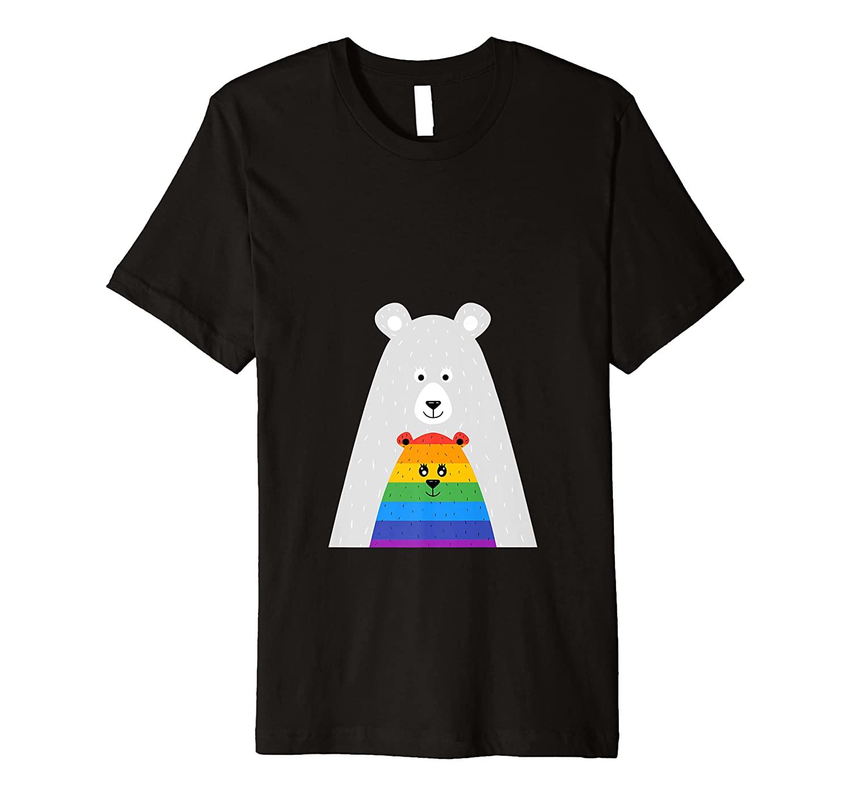 Gay Pride Mama and Baby Bear Shirt Gift Lesbian Son Daughter