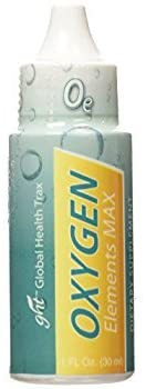 GHT Oxygen Elements Max Dietary Supplement, 1-Ounce Bottle by GHT Global Health Trax Inc.