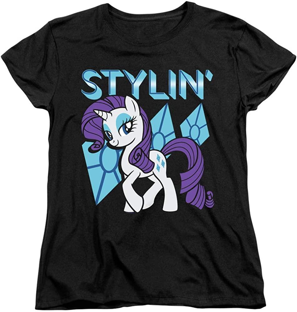 My Little Pony Womens T-Shirt Stylin Black Tee
