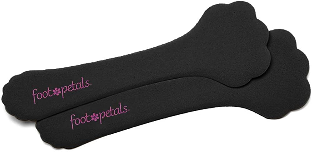 """Foot Petals Killer Kushionz, ¾"""" Cushioned Insole - One Pair of Shock-Absorbing Foam Inserts for High Heels, Boots, Flats, and Other Uncomfortable Shoes"""