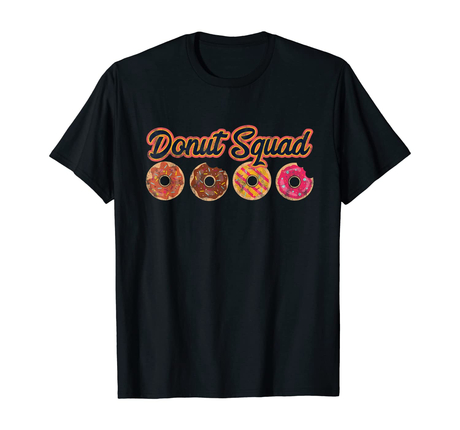 Donut Squad Bakery Coffee Shop Gift T-Shirt