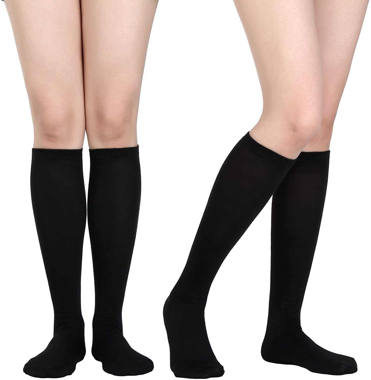 Women Knee High Socks Boot Socks Halloween Socks Cosplay Stockings