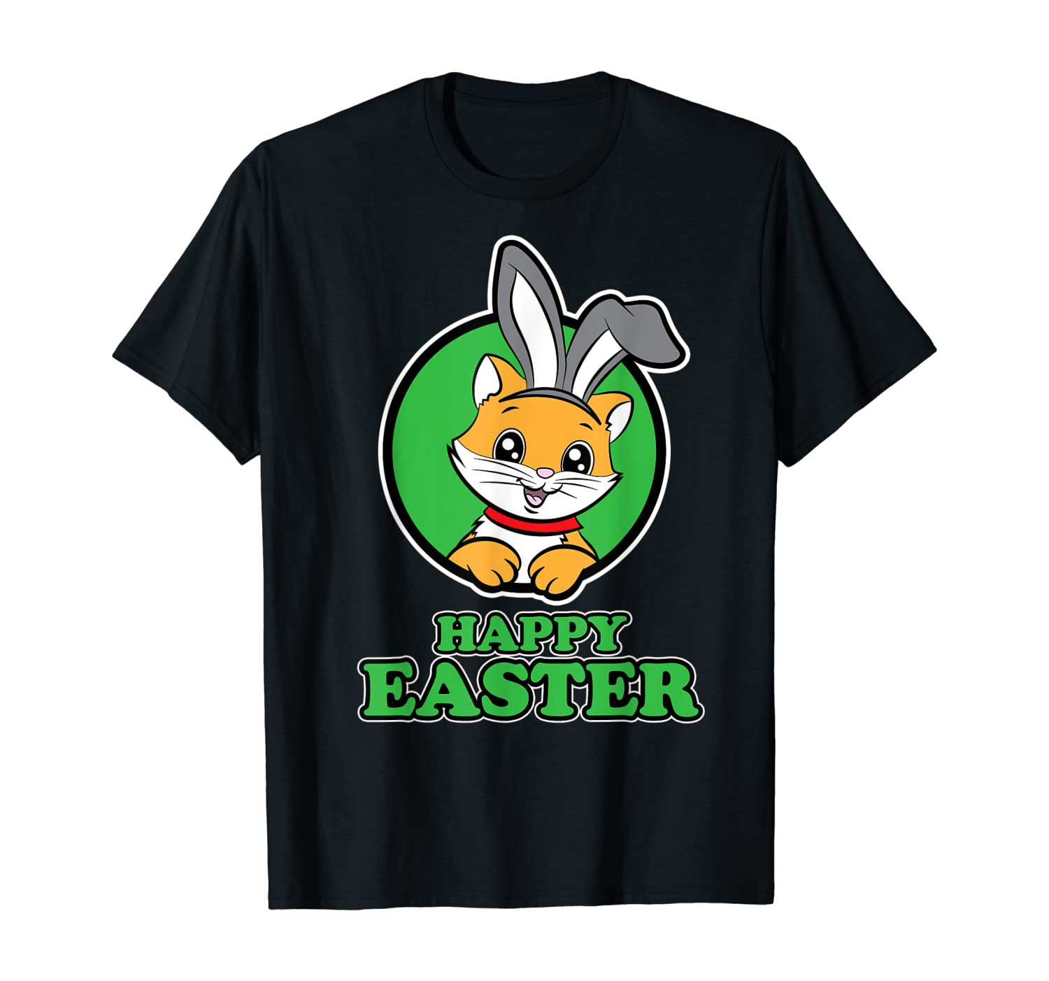 Cat Shirt for Men and Women for Easter - Happy Easter T-Shirt