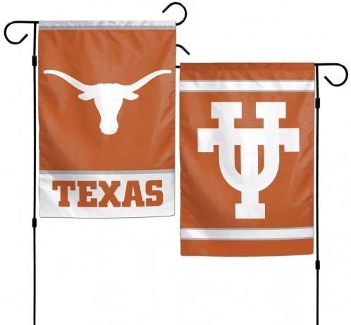 WinCraft Texas Longhorns 12x18 Garden Flag - Texas Orange