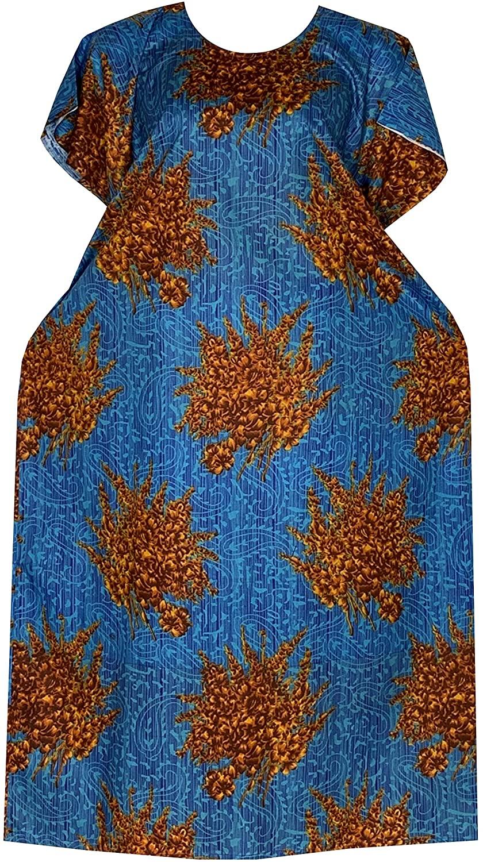Decoraapparel moomoo Kaftan Dresses for Women African Plus Size Casual Long Beach wear Boho Caftan Maxi Lounger Cover ups