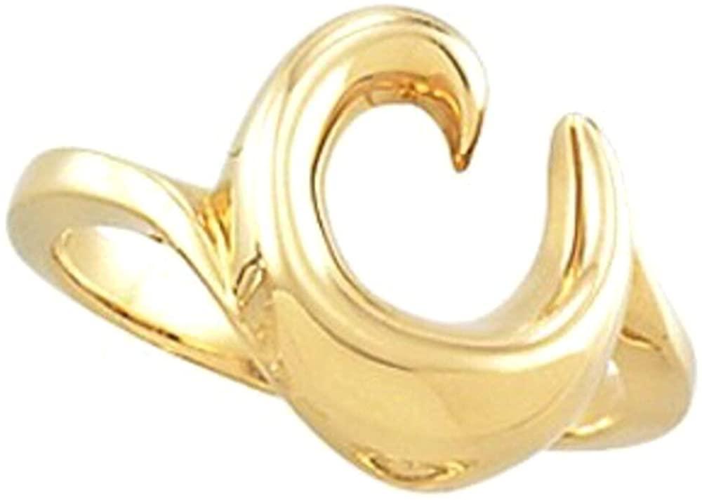 Bonyak Jewelry Platinum Freeform Remount Ring - Size 6