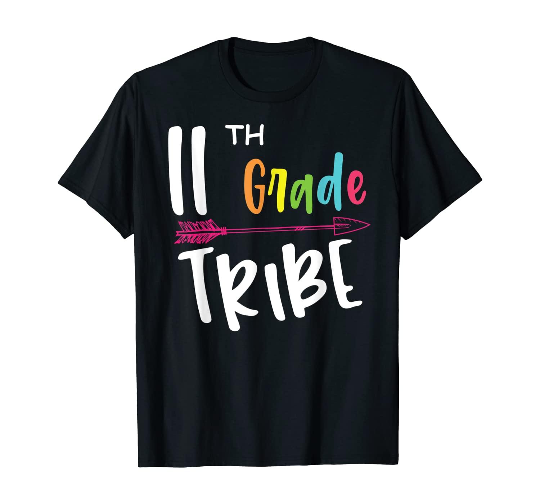 Team Eleven 11th Grade Tribe Student Teacher Back To School T-Shirt