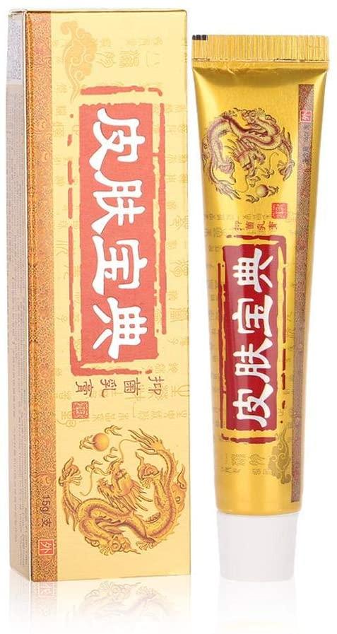 Wytino Skin Itching Cream Chinese Herbal Cream Relief Eczema Dermatitis Pruritus Rash Skin Allergy Mosquito Bite Keep Comfortable 15g