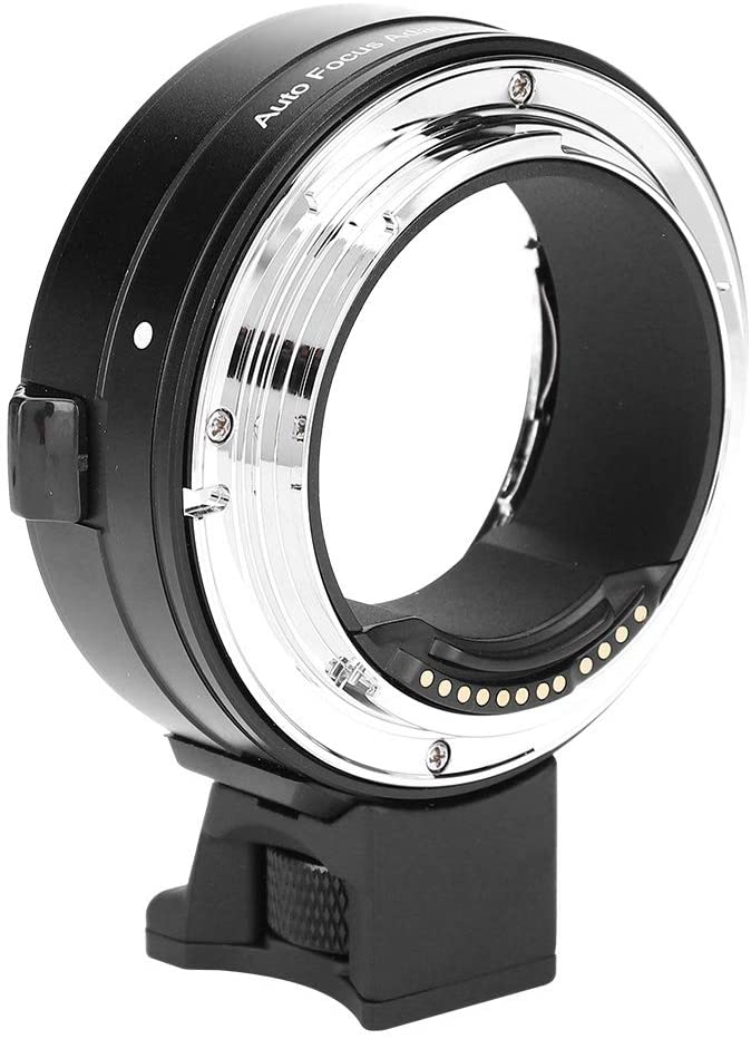 Mugast Lens Mount Adapter Ring,Auto Focus Lens Adapter,Professional Photography Accessory for Canon EF/EF-S Lens to EOS R RF-Mount Camera