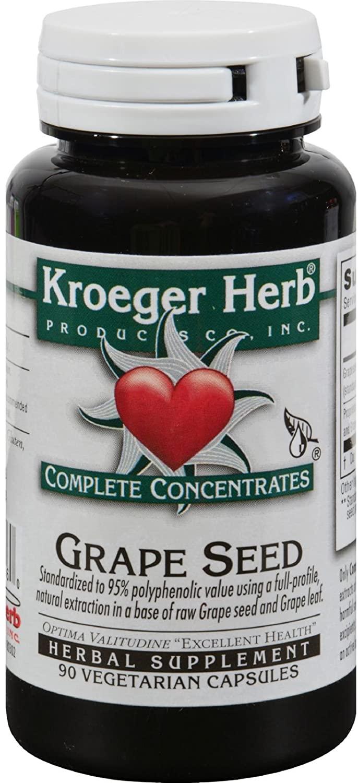 Kroeger Herb Grape Seed 95% 90 Cap