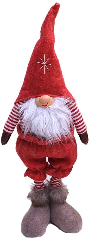 Mcsibobce Christmas Handmade Ornaments - Gnome Tomte Santa Doll for Home Window Desk Decor