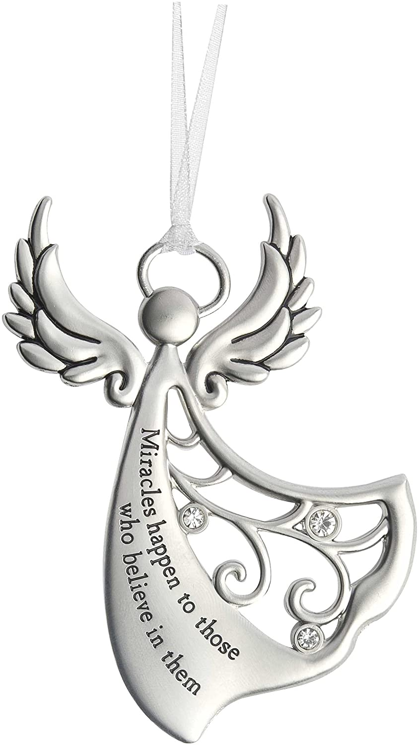 Ganz Angels By Your Side Ornament - Miracles happen to those who believe in them